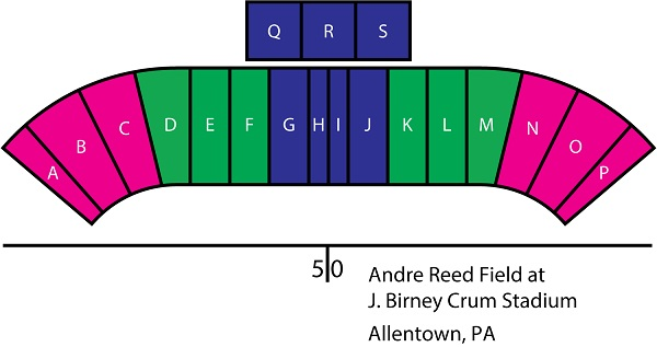 DCI Eastern Classic Diagram
